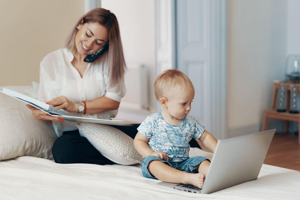 Home office e filhos em casa: o impacto da pandemia sobre as mães